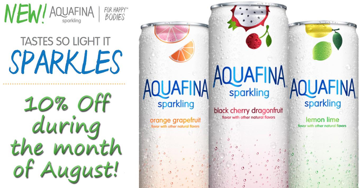 Aquafina Sparkling Promo