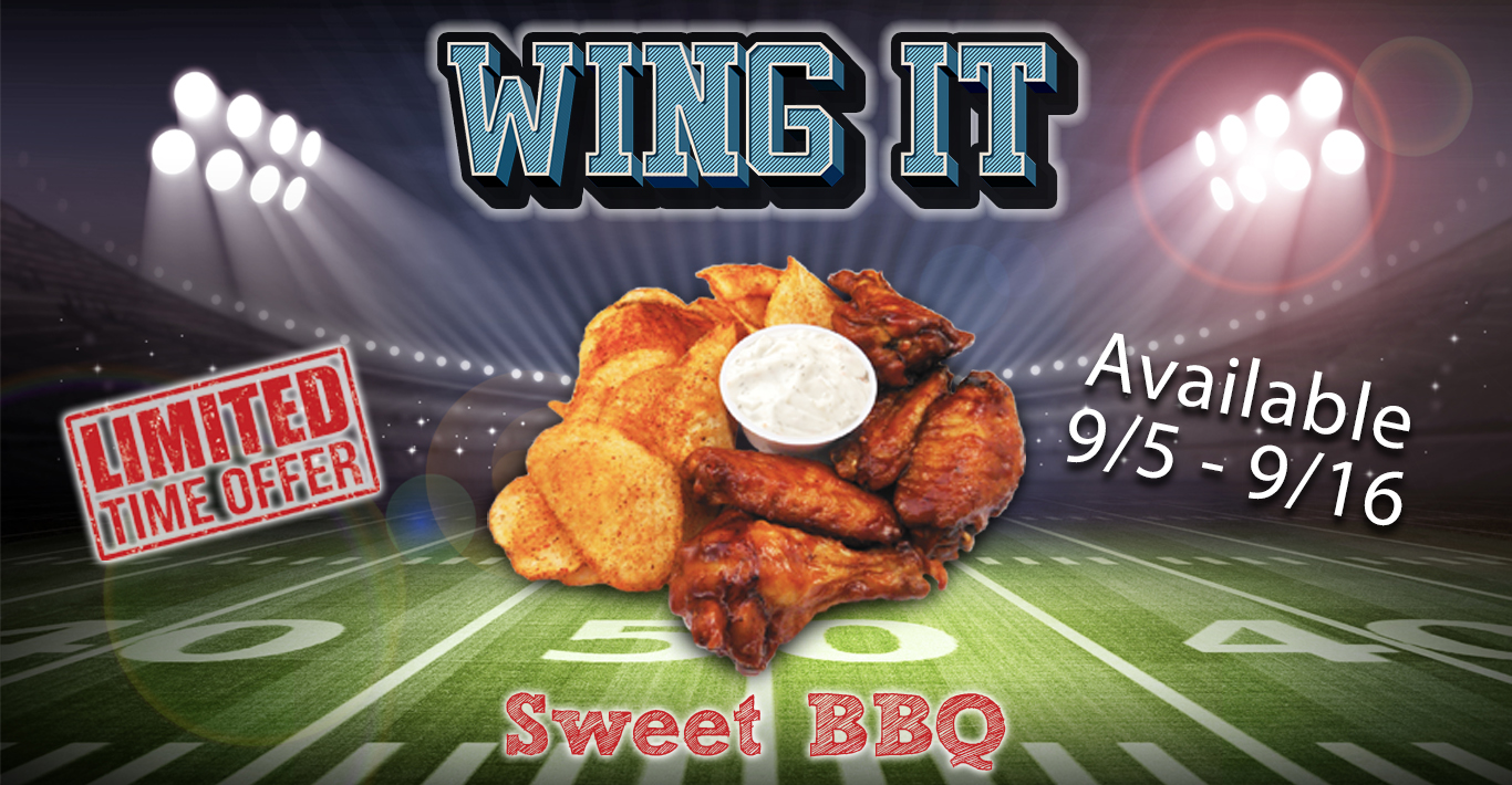 Sweet BBQ Wings Promo