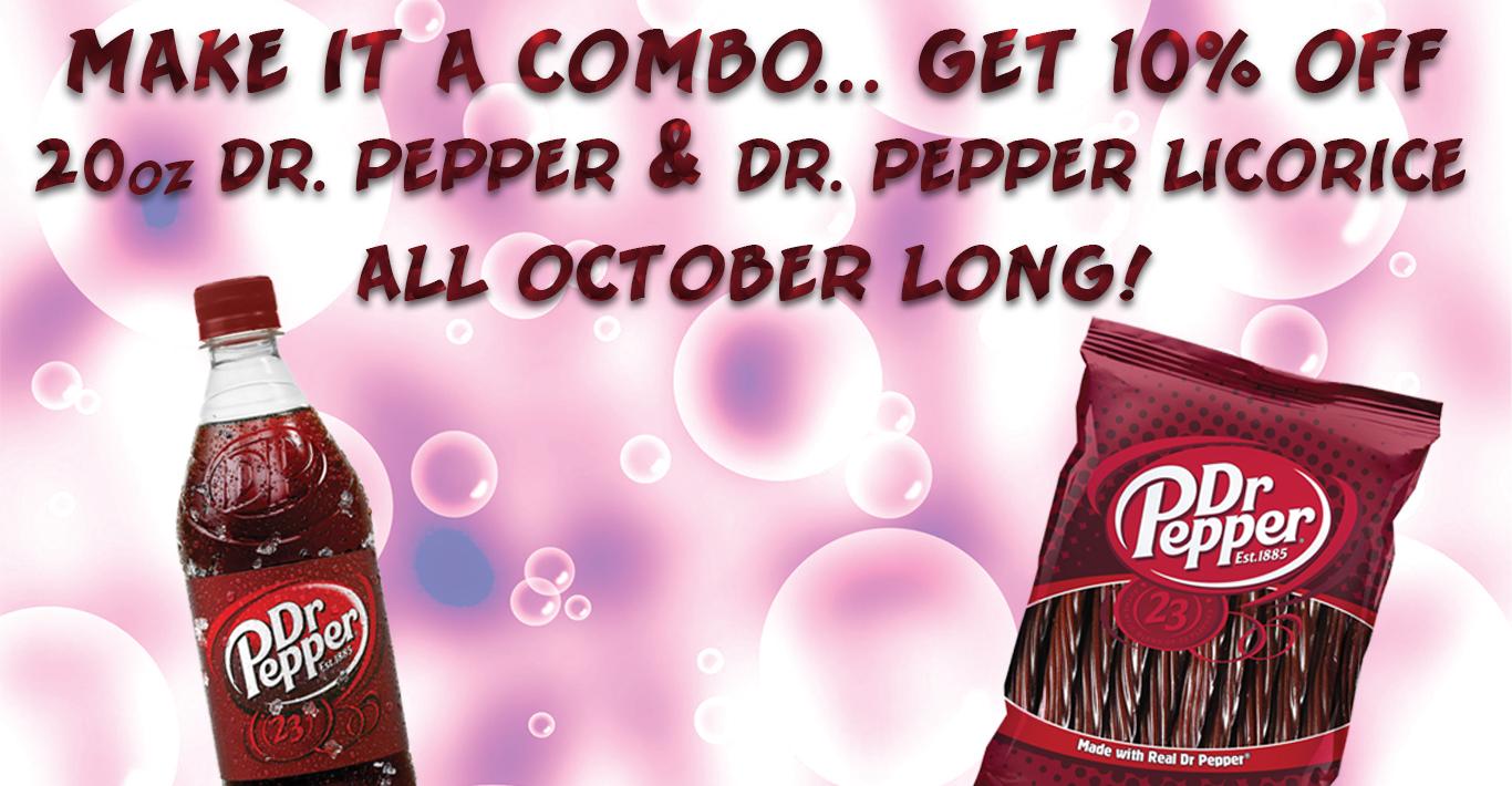 Dr. Pepper & Dr. Pepper Bites
