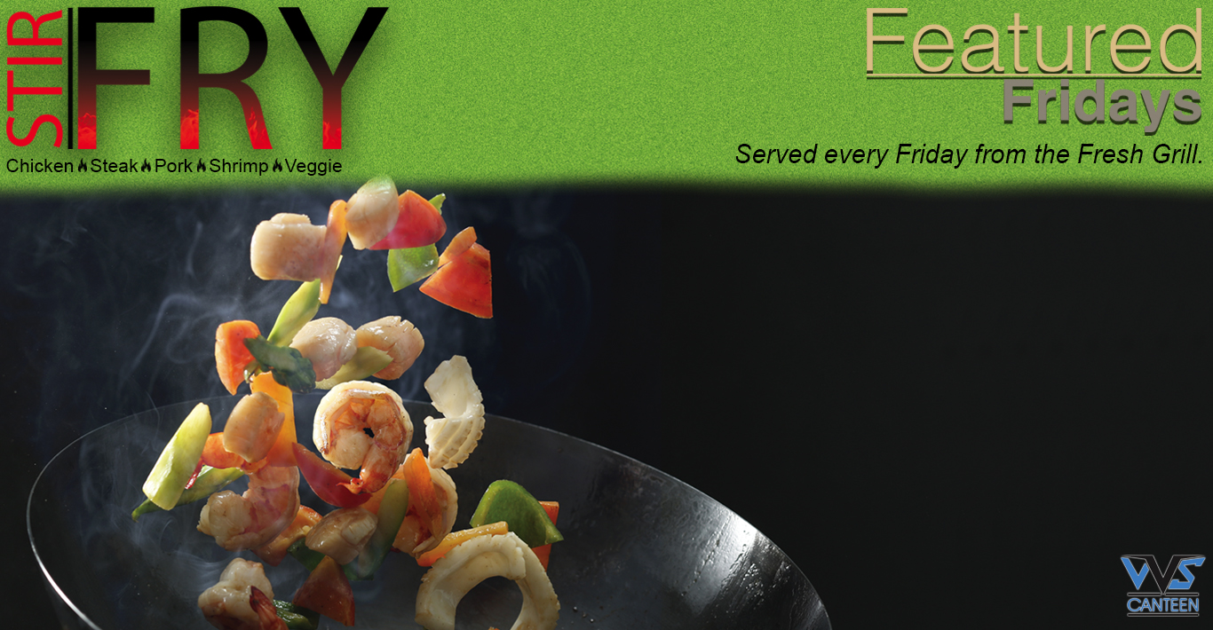 Featured Fridays - Stir Fry