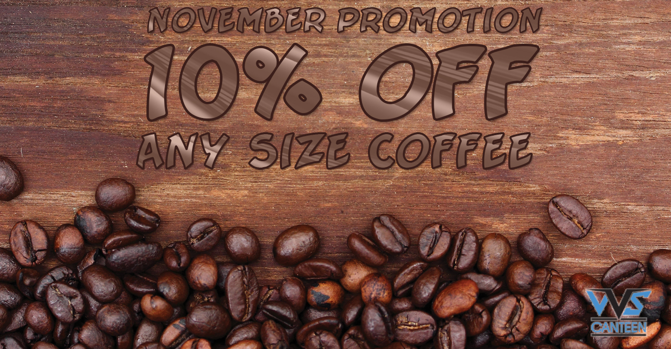 Micro Market Promo: 10% Off Coffee