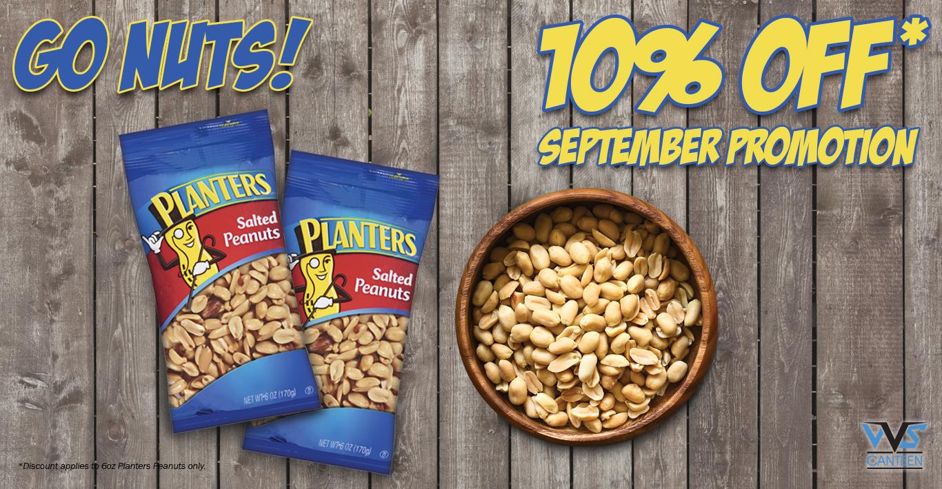 Micro Market Promo – Planters Peanuts
