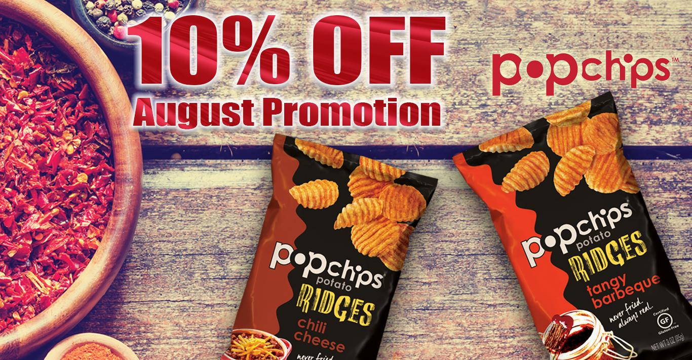 Micro Market Promo – 10% Off Popchips