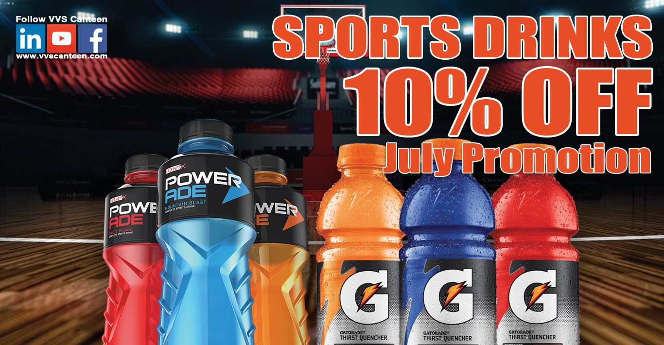 Micro Market Promo – 10% Off Sports Drinks