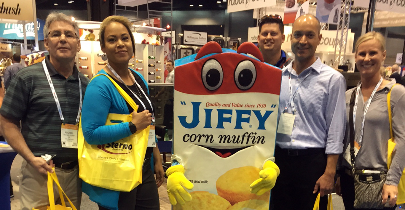 District Managers At National Restaurant Association Show In Chicago