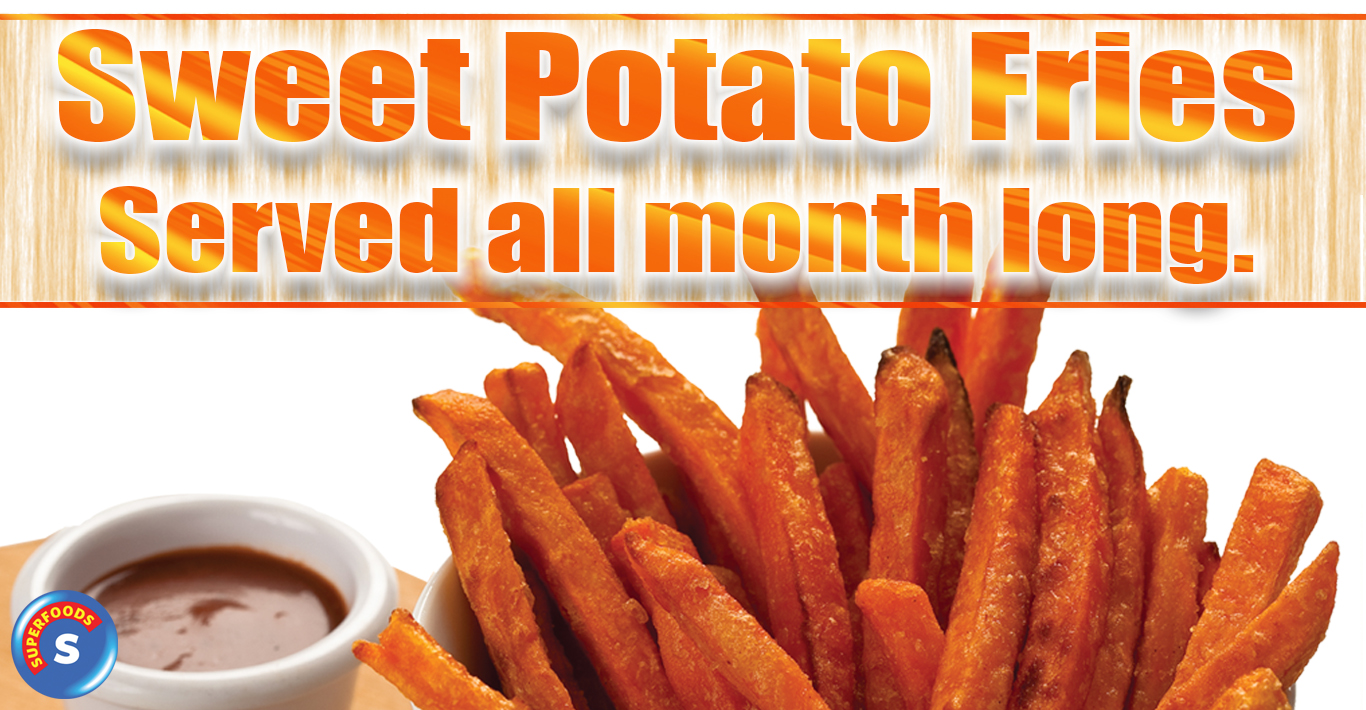 Superfood: Sweet Potato Fries