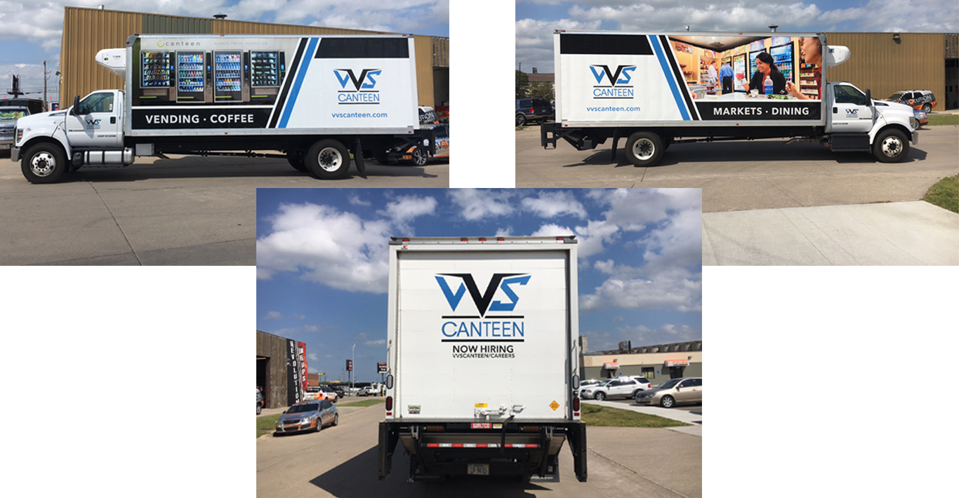 Our Newest Delivery Truck Is Wrapped And Ready For The Road!