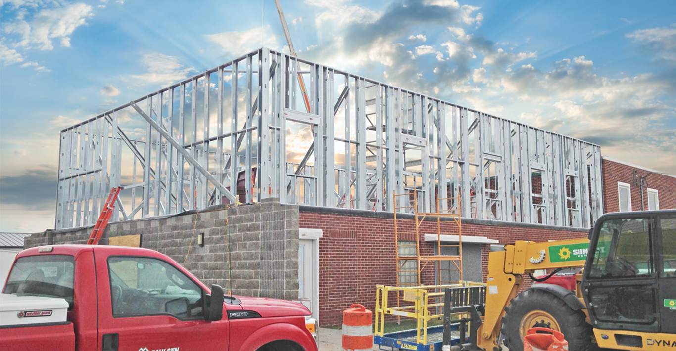 Construction On Cozad Office Building