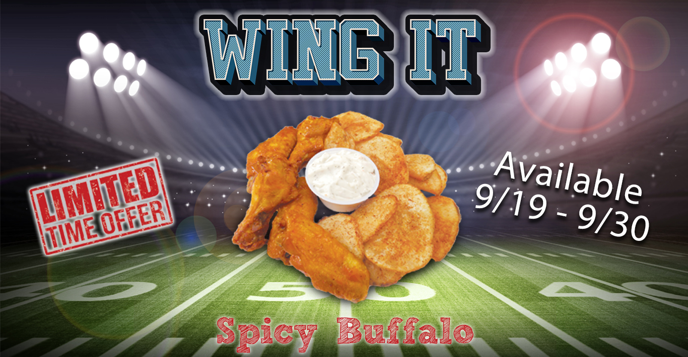 Spicy Buffalo Wings – Don't Miss Out!