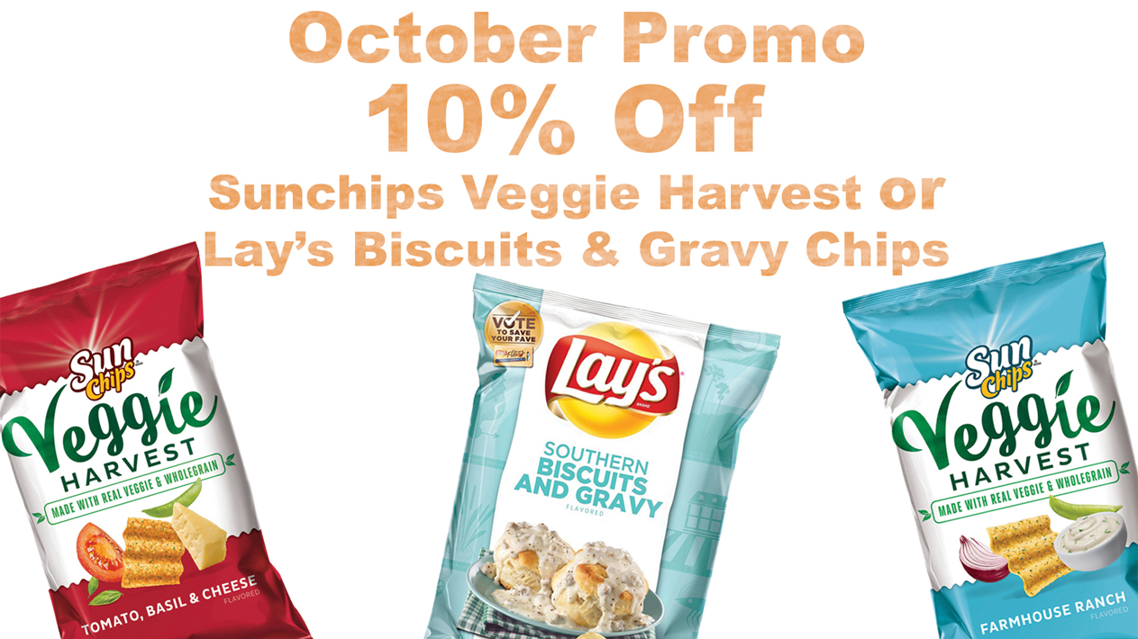Lay's And Sunchips Promo