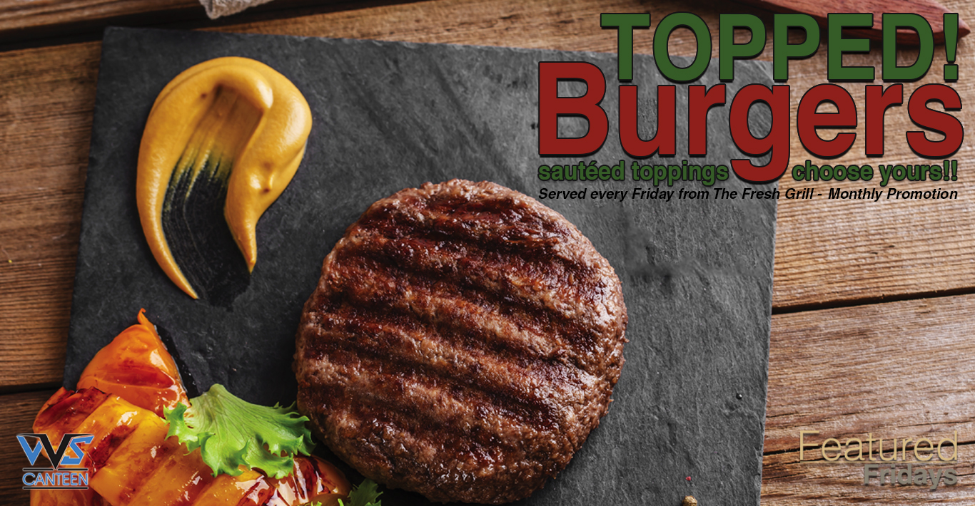 Featured Fridays: Topped Burgers