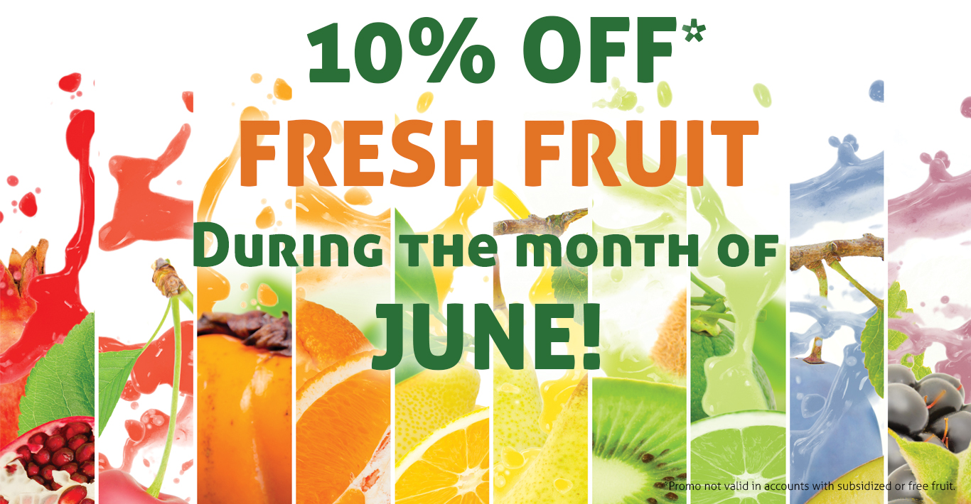10% Off Fresh Fruit