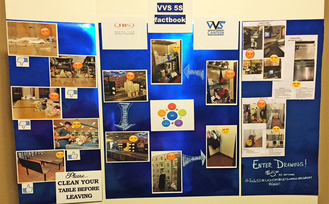 VVS Works On 5S Protocol At JBS In Cactus, Texas