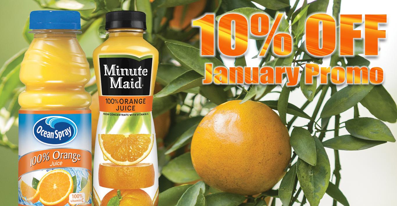 Micro Market Promo: 10% Off Juice