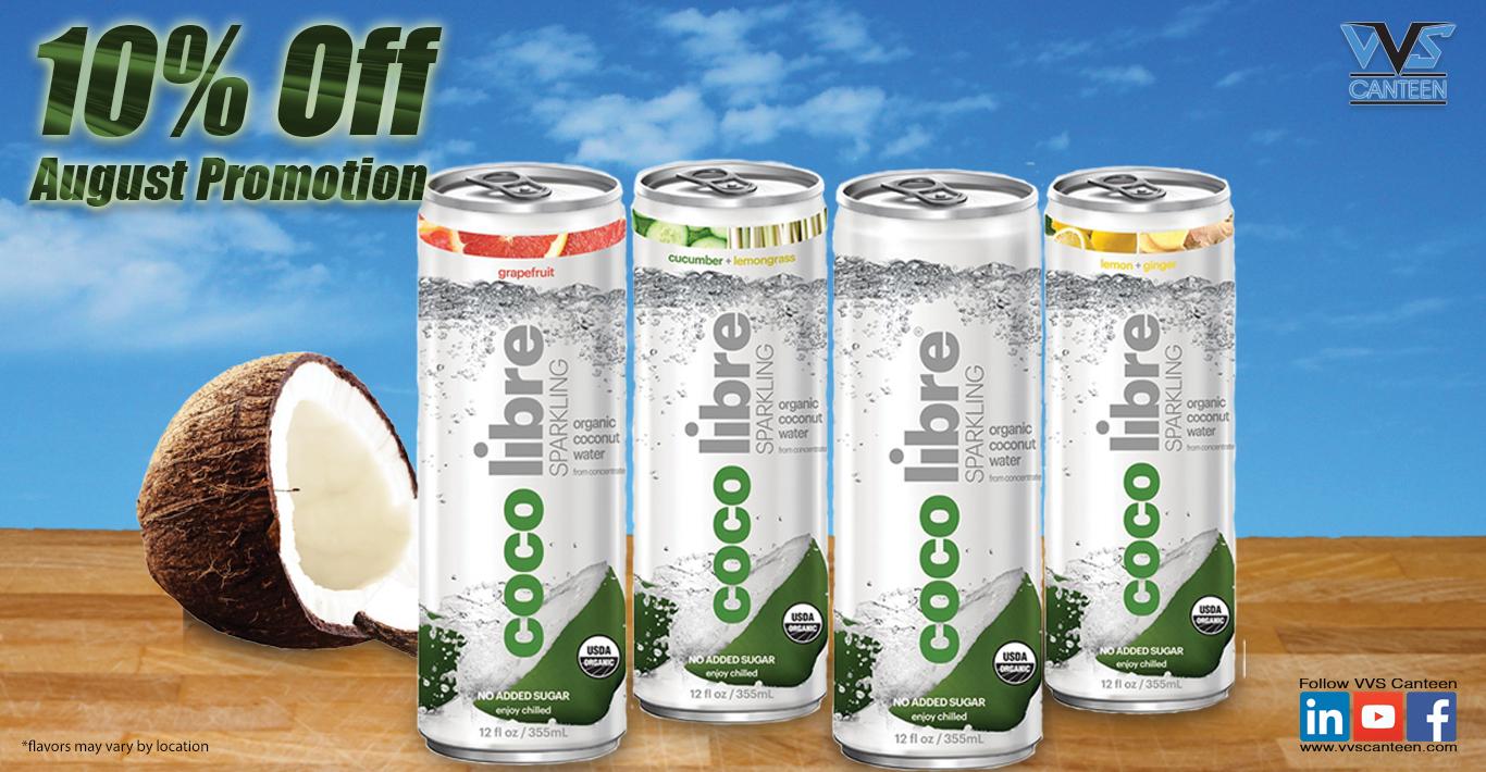 Micro Market Promo - Coco Libre Water