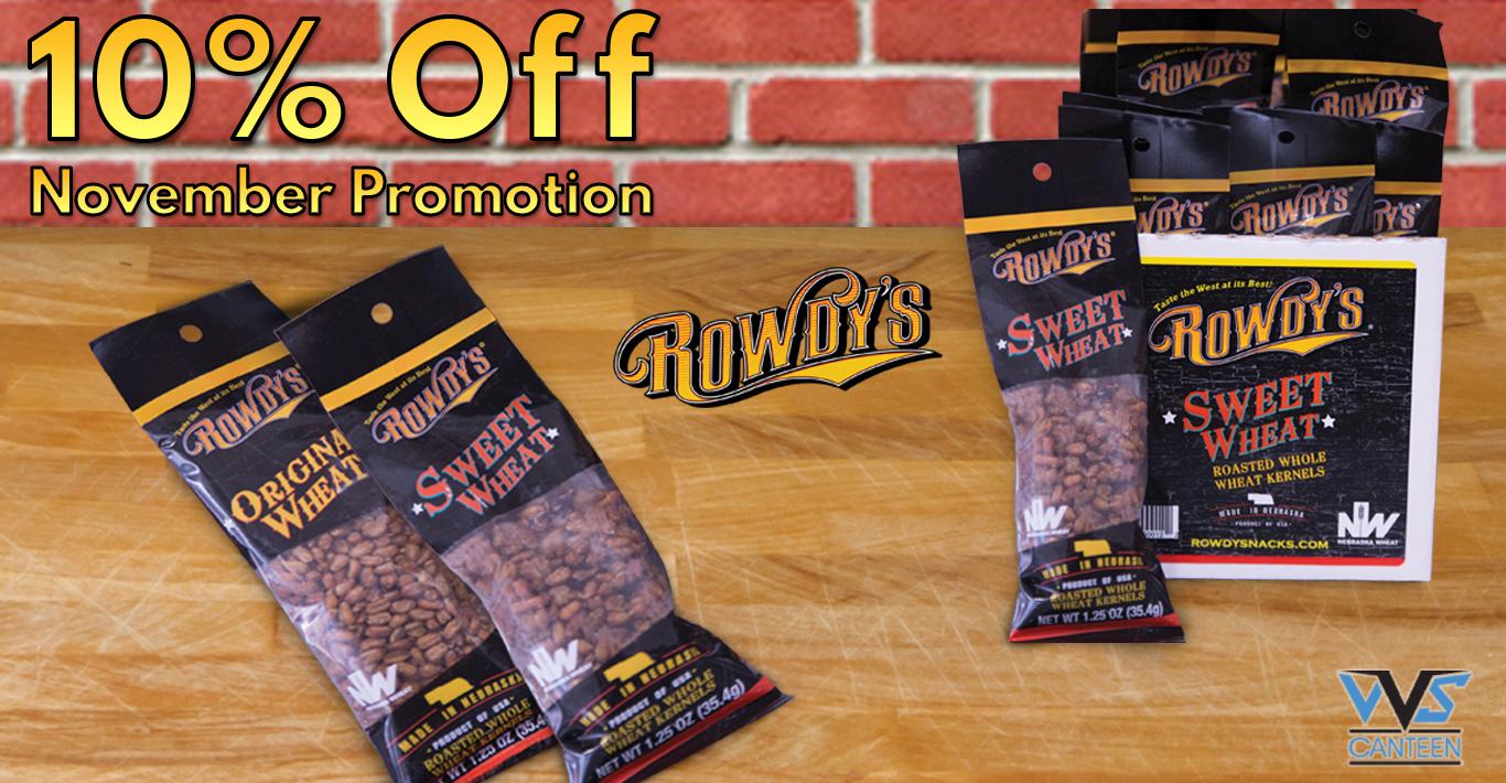 Micro Market Promo: Rowdy's Snacks