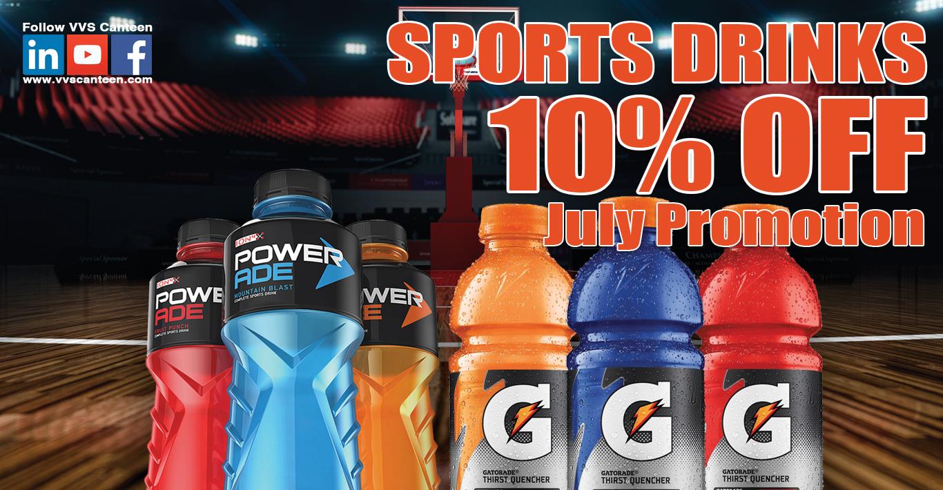 Micro Market Sports Drink Promo