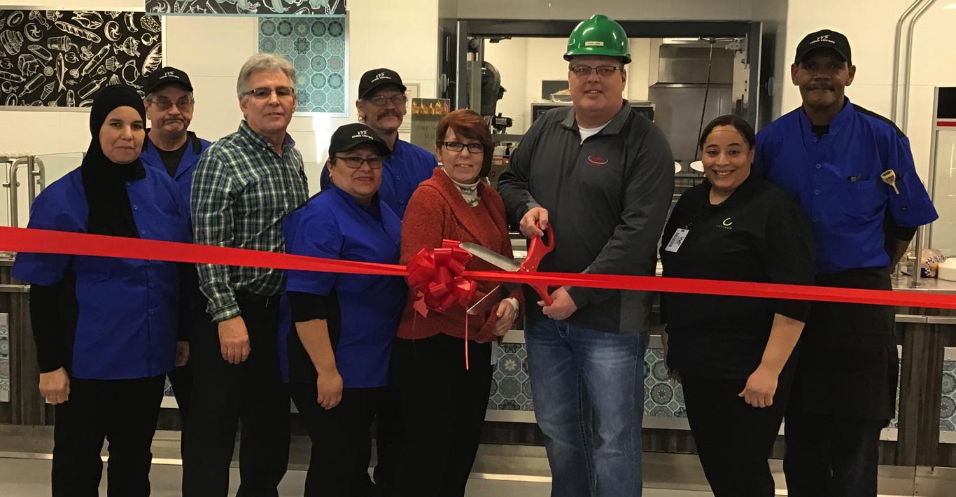 VVS & JBS Open New Cafeteria