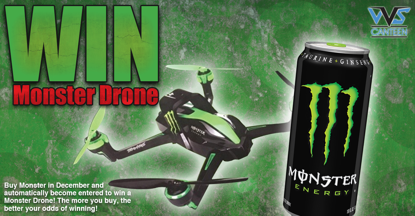 Monster Energy Drone Giveaway
