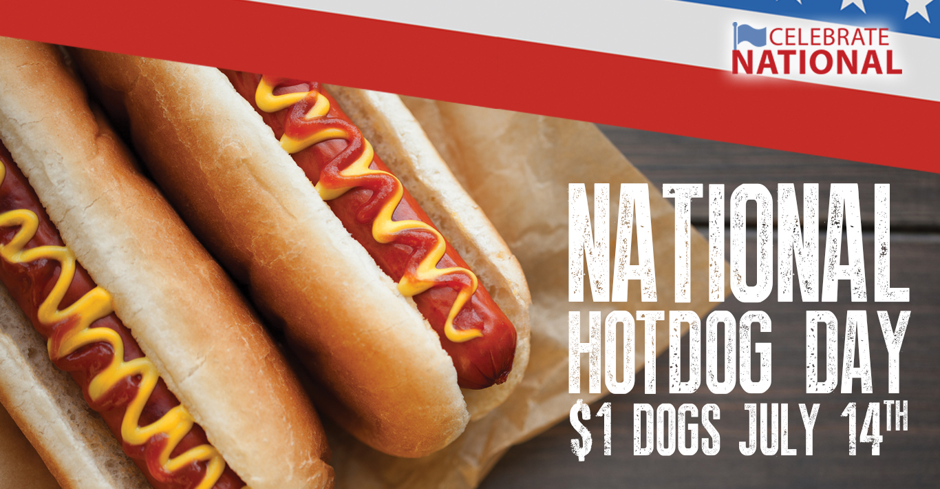 Celebrate National Hot Dog Day