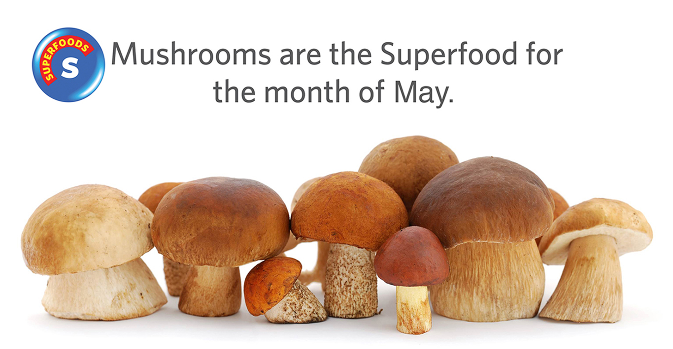 SUPERFOOD: Mushrooms