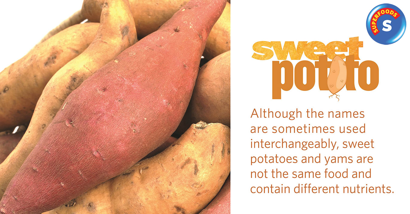 SUPERFOODS: Sweet Potatoes