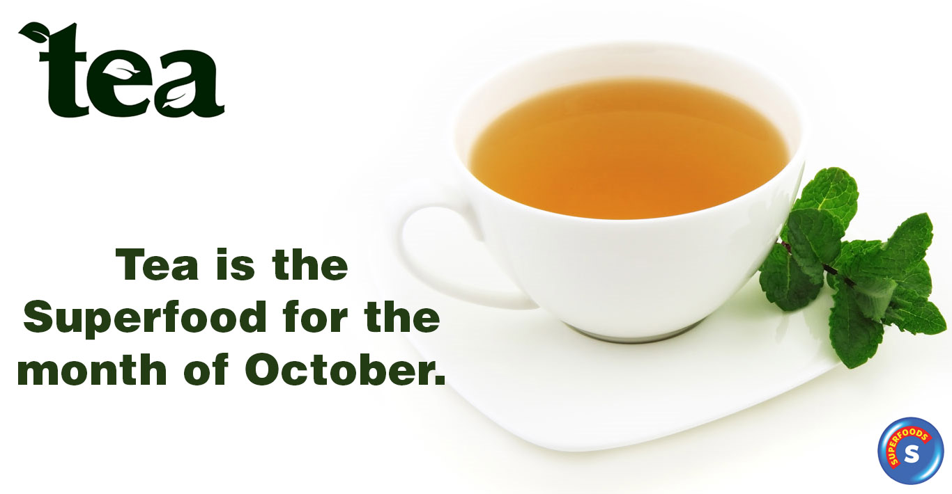 October SUPERFOOD - Tea