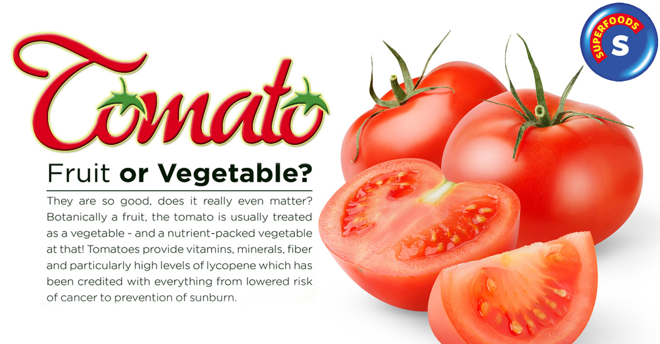 August SUPERFOOD - Tomatoes