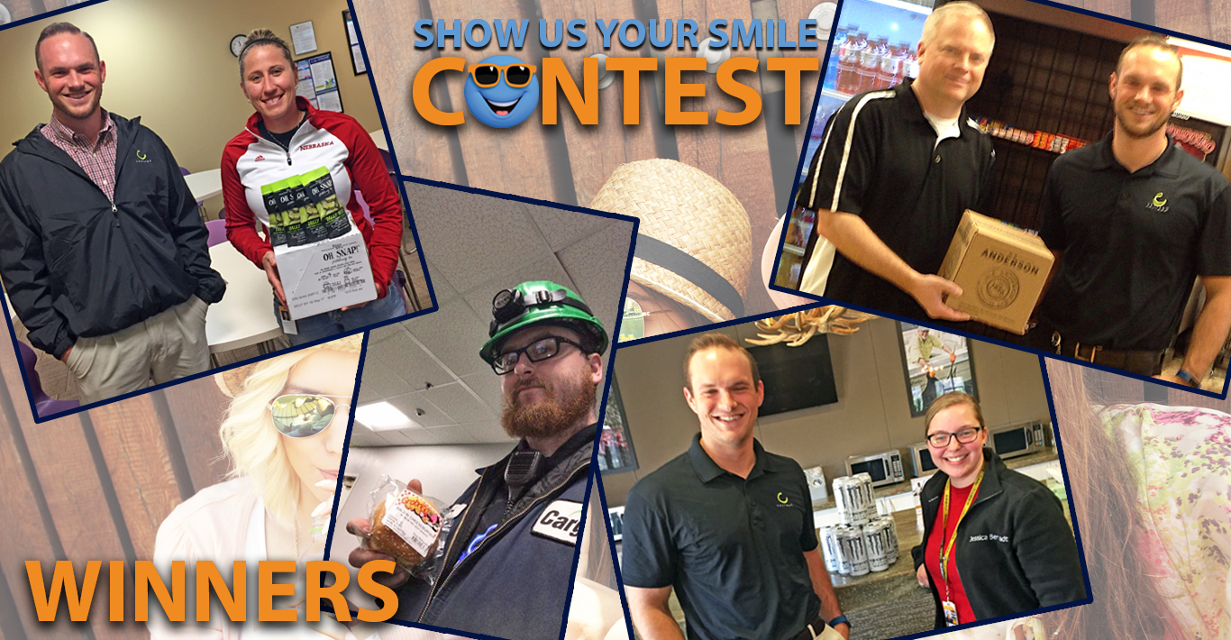 Show Us Your Smile Winners