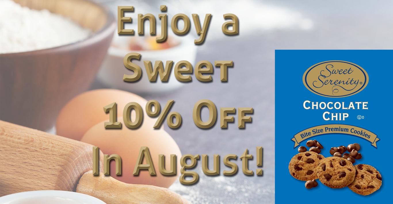 August Micro Market Promo - Sweet Serenity Cookies